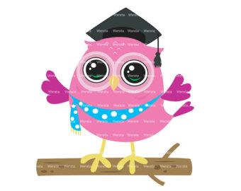 Owls Clipart Digital Owl Clipart Love Birds Owls Clip By Werata