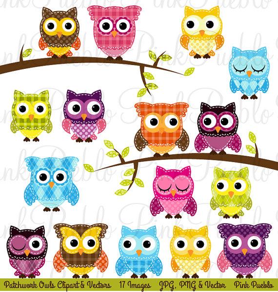 Patchwork Owl Clipart Clip Art Patchwork Quilt Owls Clip Art Clipart