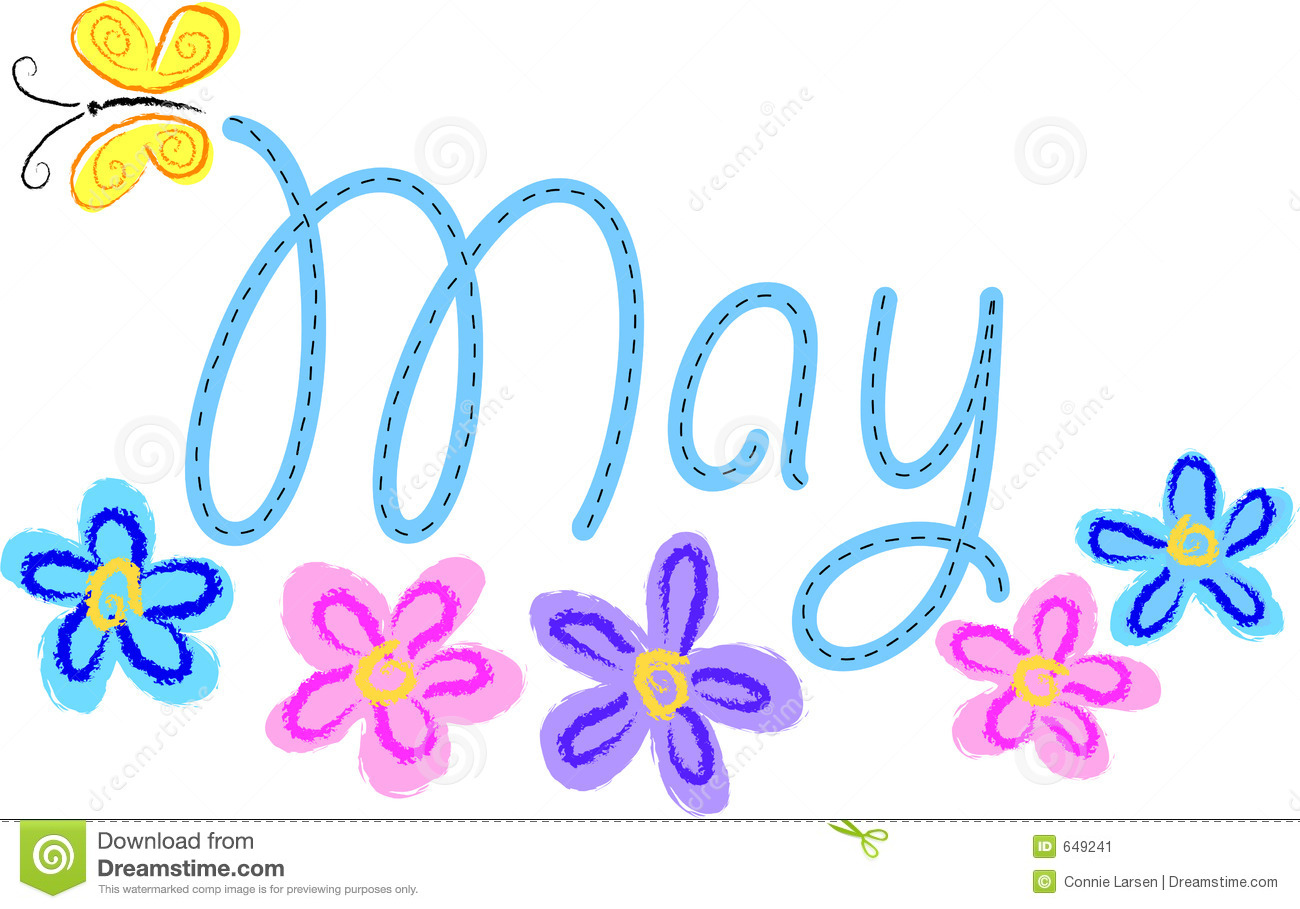 Clip Art Month Of May' Clipart - Clipart Kid
