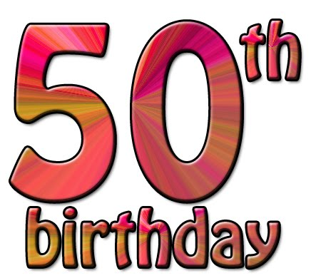 50th Birthday Clip Art 072110  Vector Clip Art   Free Clipart Images