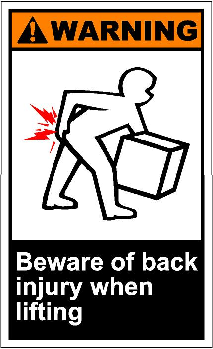 Back Injury Clip Art Store