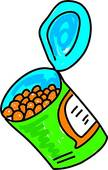 Baked Beans   Clipart Graphic