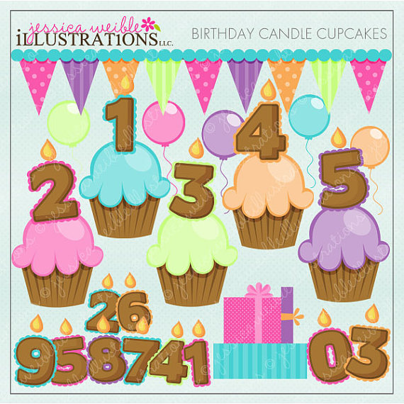 Cute Number Clipart - Clipart Kid