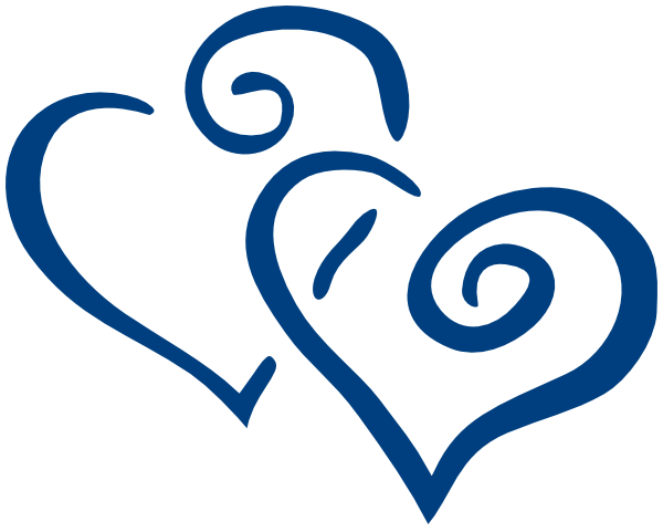 Blue Heart Clipart   Clipart Panda   Free Clipart Images