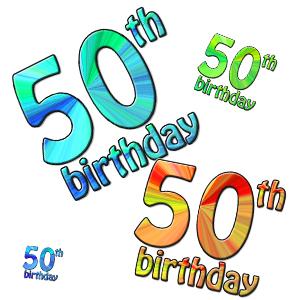 Free Happy 50th Anniversary Clip Art