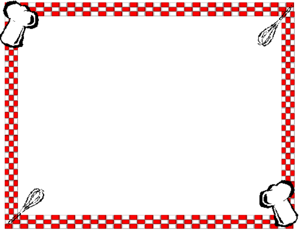 Food Corner Borders Clipart - Clipart Kid