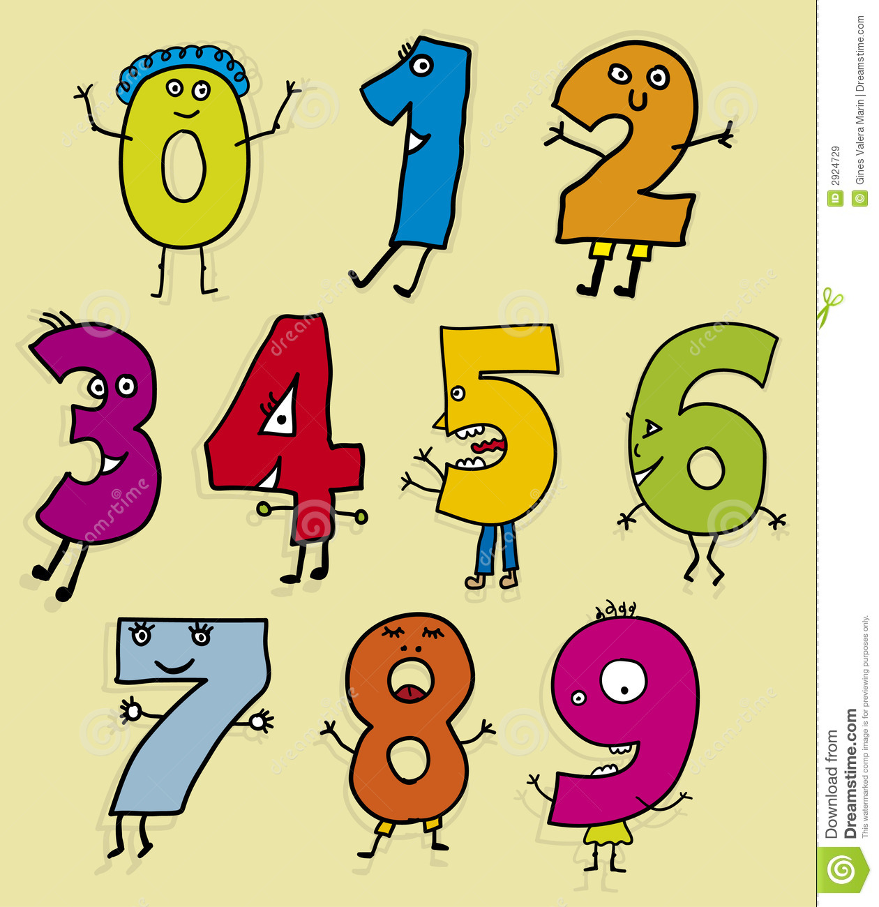Clip Art Clipart Numbers clipart numbers numbers