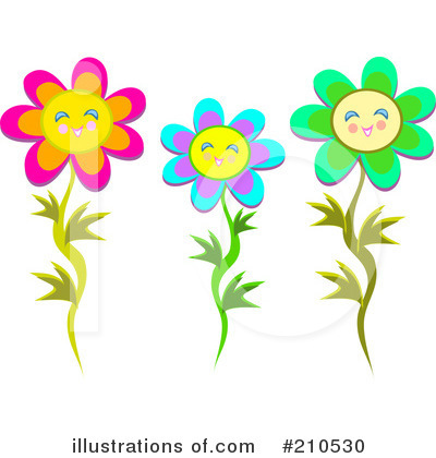 Flowers Clipart  210530   Illustration By Bpearth