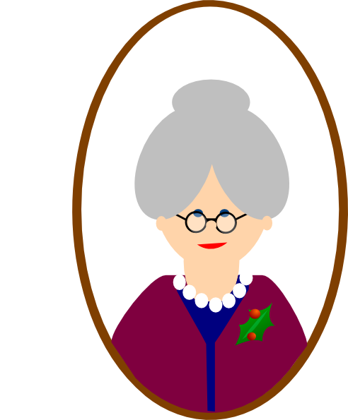 Clip Art Grandma Clip Art cartoon grandma clipart kid clip art at clker com vector online royalty free