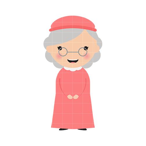 Cute Black Grandma Clipart - Clipart Suggest
