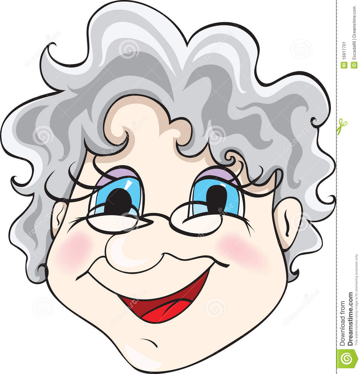 Hip Grandma Clipart - Clipart Kid