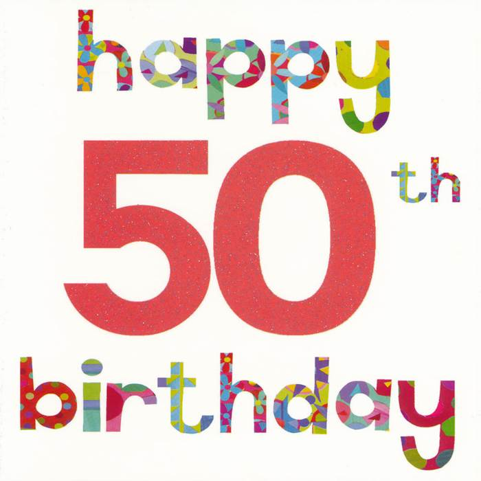 Funny 50th Birthday Clipart Clipart Kid – 50th Birthday Greetings Messages