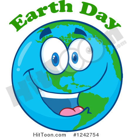Happy Earth Day Clipart - Clipart Kid