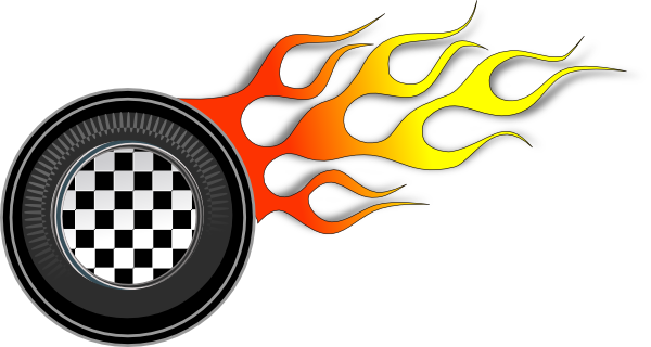 Racing Wheels Illustration Clip Art At Clker Com   Vector Clip Art