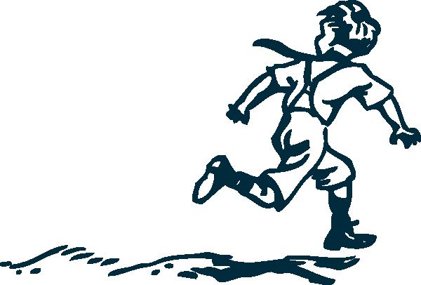 Running Boy Clip Art At Clker Com   Vector Clip Art Online Royalty
