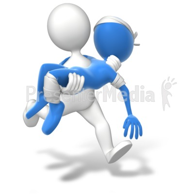 Running Carry Injury   Presentation Clipart   Great Clipart For