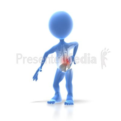 Stick Figure Back Injury   Medical And Health   Great Clipart For