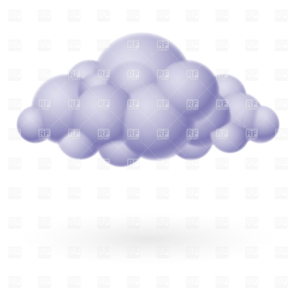 Storm Cloud 9178 Download Royalty Free Vector Clipart  Eps