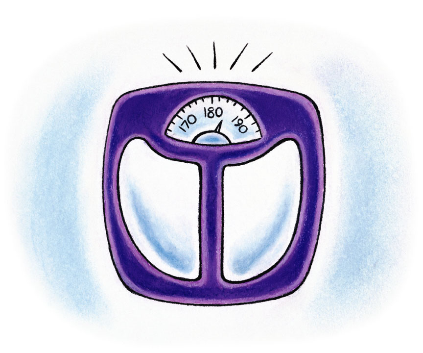 weight loss scale clip art free