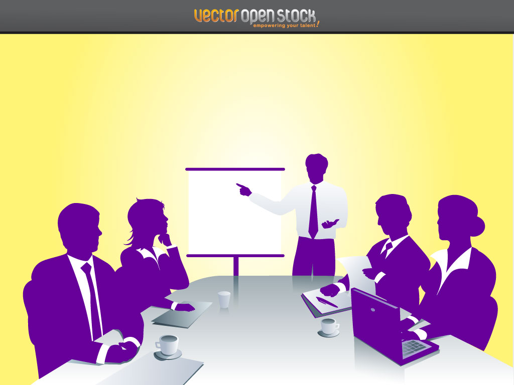 Business Meetings Clipart Business Meeting Scene