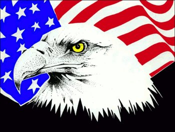 Free Clip Art  American Patriotic Eagles Clip Art For The 4th Of July