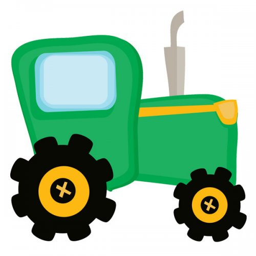 Green Tractor Clipart   Clipart Panda   Free Clipart Images