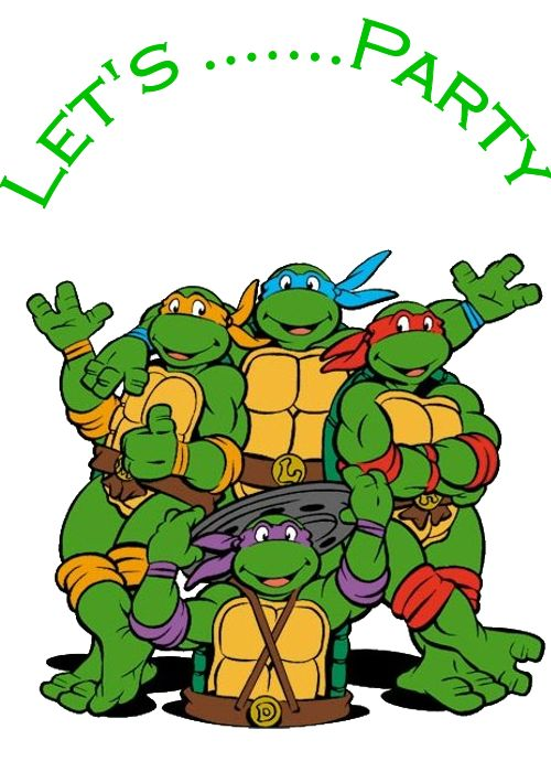 Let S Party   Tmnt   Pinterest
