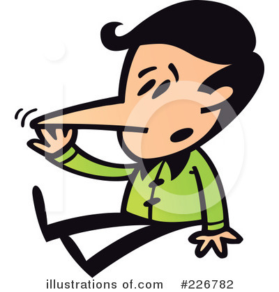 Liar Clipart  226782 By Zooco   Royalty Free  Rf  Stock Illustrations