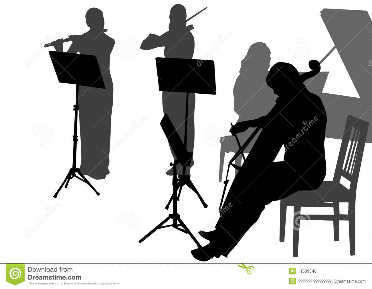 Music Orchestra Royalty Free Stock Image   Image  11639546