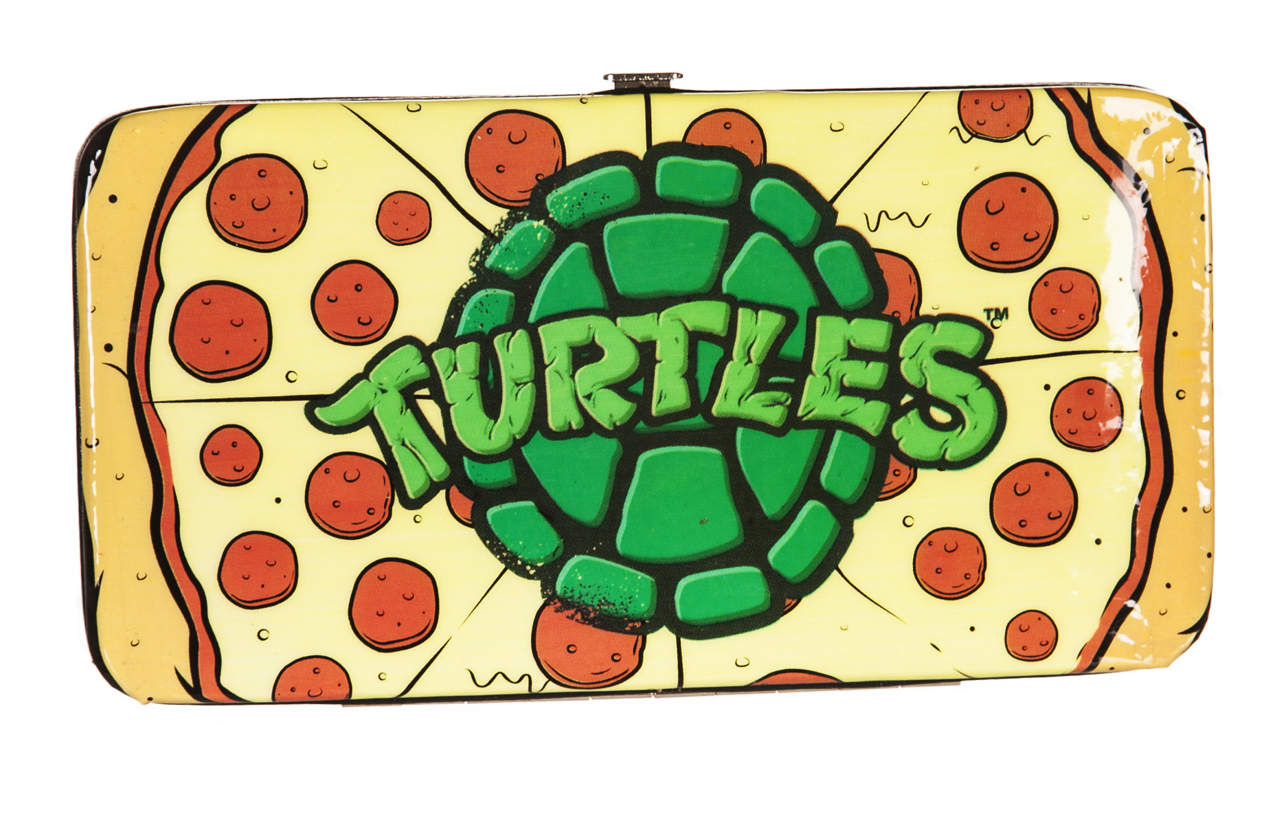 Official Teenage Mutant Ninja Turtles Pizza Time Hinge Wallet   Ebay