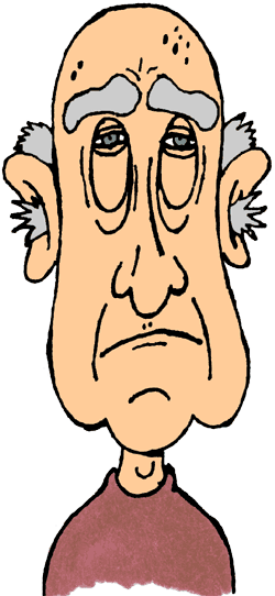 Old Man Clip Art Free