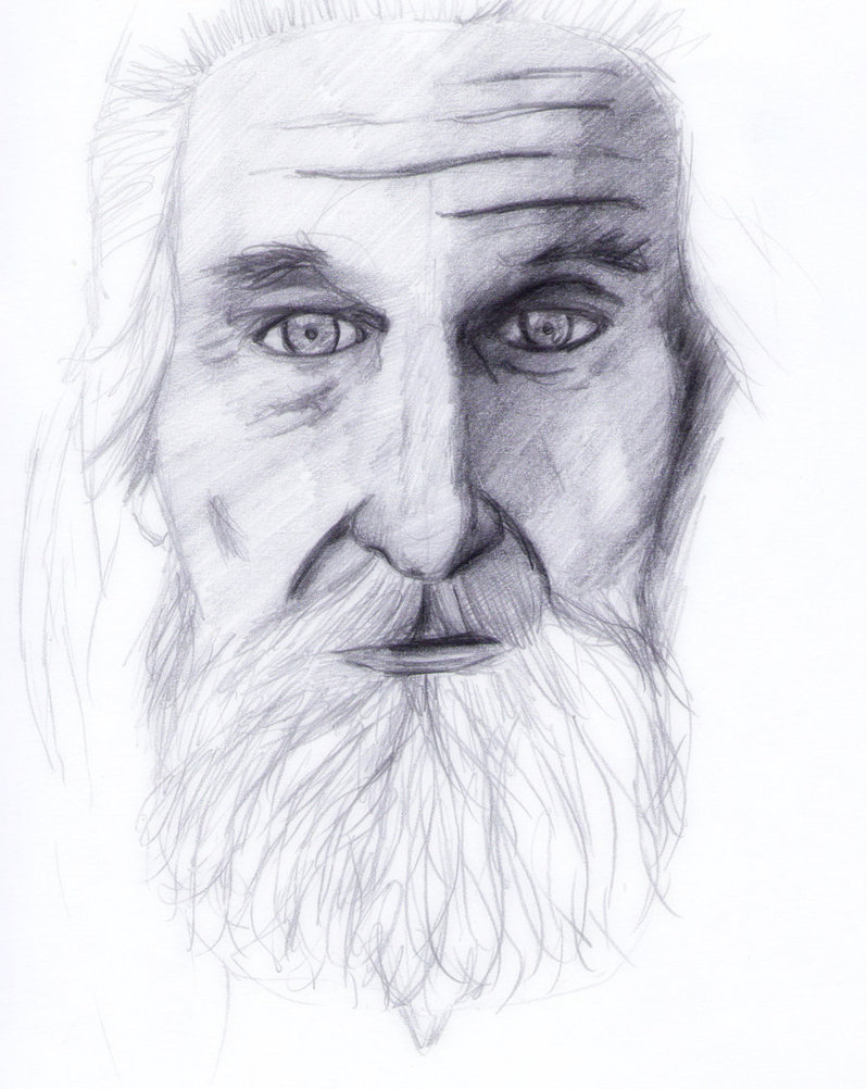 Old Man Face By Cri9 On Deviantart