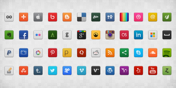 Report Browse   Social Media Icon Set  Psd Png