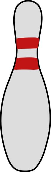 Share Bowling Pin Clipart With You Friends