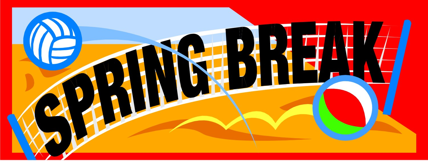Spring Break Clipart - Clipart Kid