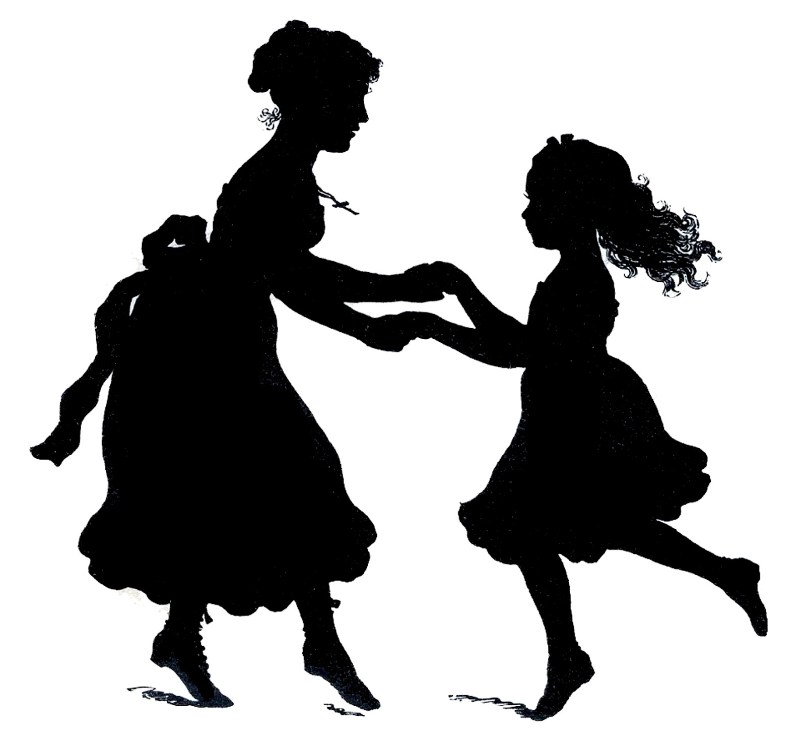 Mother's Day Mother And Child Clipart - Clipart Kid
