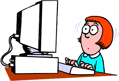 Computer Learning Clipart