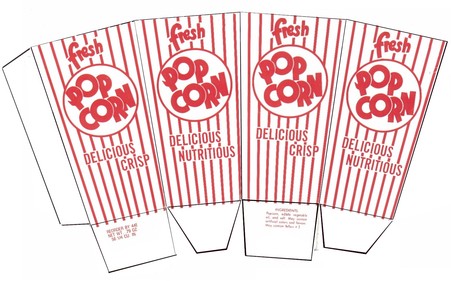 Box Printout Word Popcorn Box Instructions Wp Popcorn Box Instructions