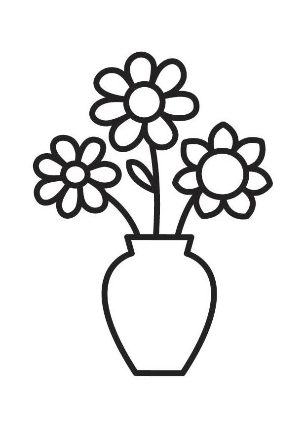 Clip Art Black And White Vase Clipart - Clipart Kid