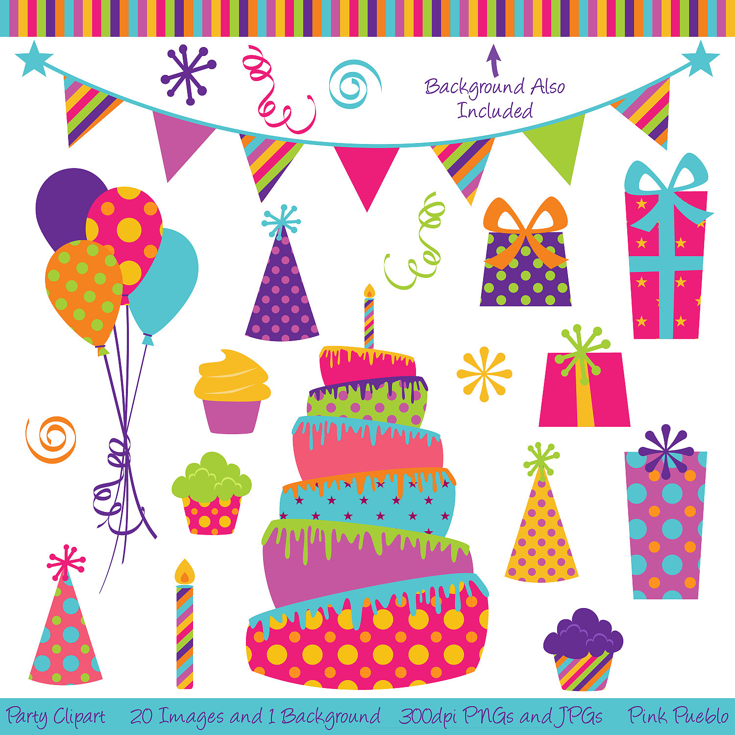 Clip Art Birthday Party For Adults Clipart Clipart Suggest