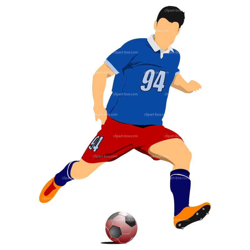 Soccer Player Clipart - Clipart Kid