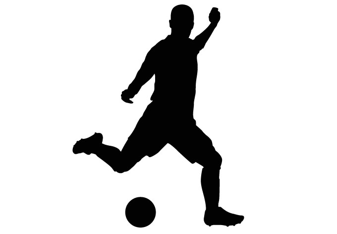 Clip Art Soccer Player Clipart soccer player clipart kid silhouette panda free images