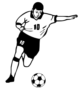Clip Art Soccer Player Clipart soccer player clipart kid leagues vancouver bc rec centre