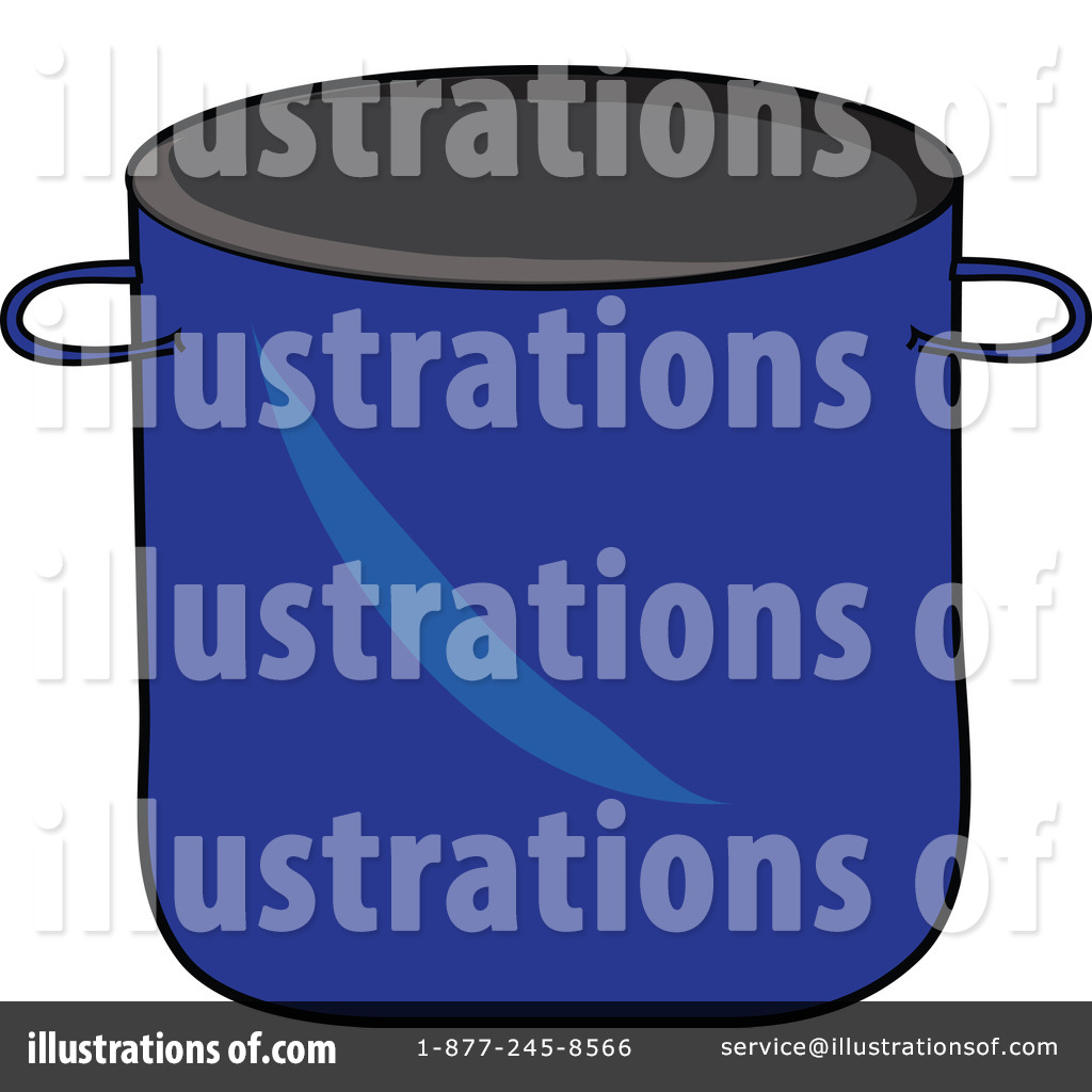 Stock Pot Clipart Illustration By Pams Clipart   Stock Sample  62644