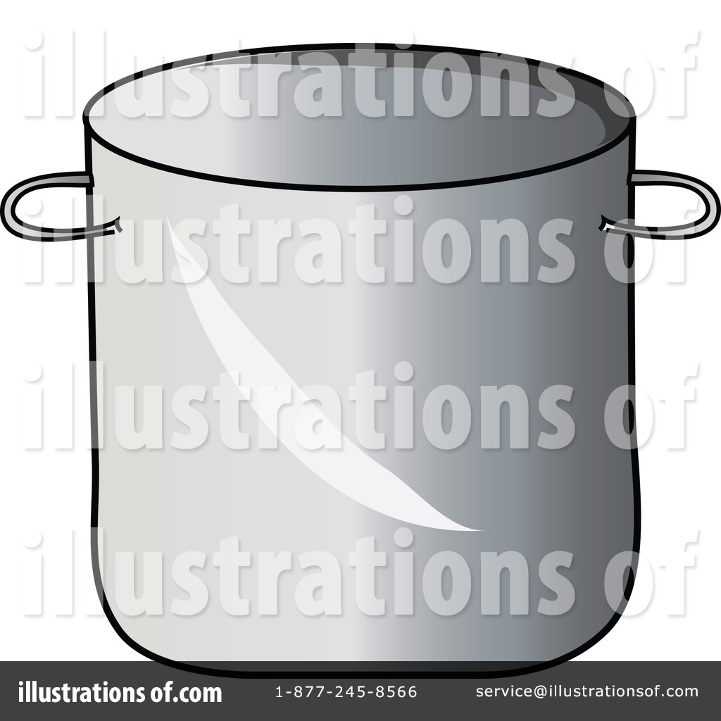 Stock Pot Clipart Illustration By Pams Clipart   Stock Sample  62658