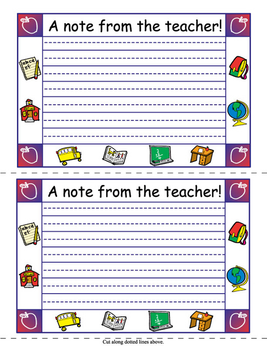 Teacher Note Clip Art At Lakeshore Learning