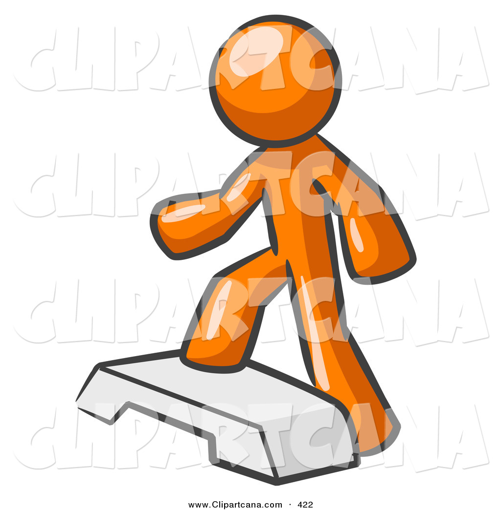 Step Aerobic Clipart - Clipart Kid