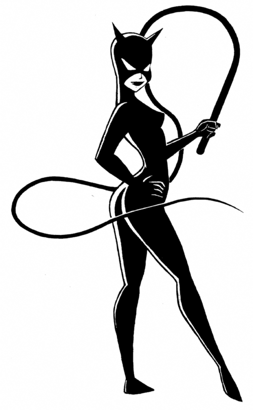 Catwoman Large Image Detail For Catwoman In Doctor Cyclopss Clip Art