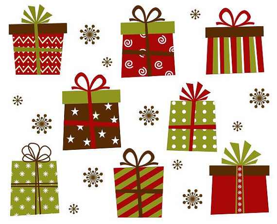 free clipart pictures of christmas presents - photo #39