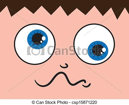 Close Up Eyes Crossed And Confused Csp15871220   Search Clipart